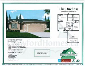 LESS THAN 360K   THIS NEW BUILD BUNGALOW in Pilot Butte