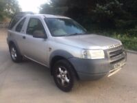 LAND ROVER FREELANDER SPARES OR REPAIRS GOOD ENGINE £250 O-N-O