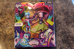 Brand New! My Little Pony-Equestria Girlsl- Rainbow rocks