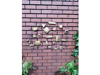 Garden wall art decoration patio