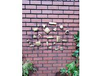 Garden wall art decoration patio