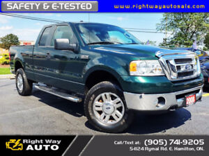 2008 Ford F-150 XLT | NAVI | 4x4 | 186Km | SAFETY & E-TESTED