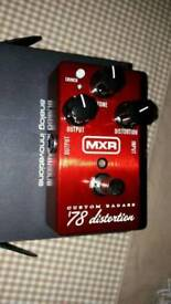 MXR badass 78 distortion