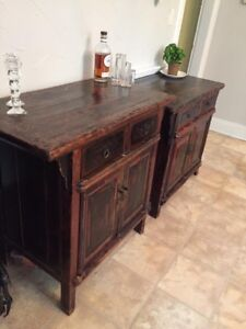 Antique solid wood Chinese sideboards