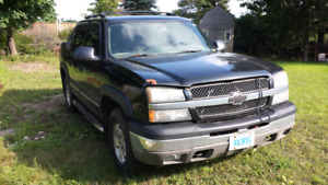 2004 Chevy Avalanche Z71 As Is