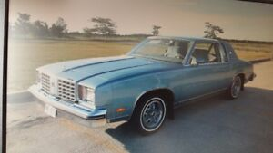 1979 Oldsmobile Cutlass Calais (excellent cond)