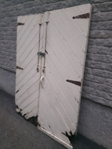 Antique Wooden Barn/Shed doors