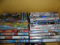 Disney DVD bundle & others totalling 24 DVD's