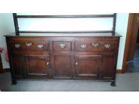 Stuning antique welsh dresser.dresser
