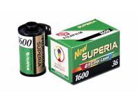 Film 35mm Fuji film Superia 1600 Fuji 36 exposure discontinued film