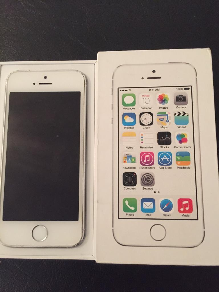 iPhone 5s 16GB Unlocked Factory Refurbished for salein Lane End, BuckinghamshireGumtree - iPhone 5s 16GB Unlocked In Good condition Refurbished but has got scuffs on the bottom casing but apart from that the screen is immaculate and and the back panel is immaculate.Comes with box and accessories Always been a case and screen protector has...