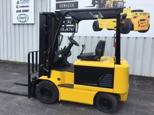 4 Wheel Electric Forklift 5000lb Capacity