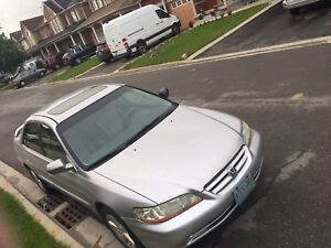 2002 Honda Accord comes safety and emission 2000$ OBO