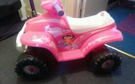 Toddlers electric quad
