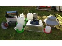 Various Equipment for Chickens