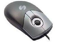 Trackball Opti Scroll Mouse – Brand New!