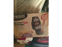 Homedics shiatsu chair massager