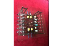Unique wine rack/coffee table