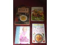 x4 Large Cookery Books Brand New Hard Backs (worth £75+) - £11 the lot