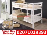 Brand New Single wooden Bunk. Bed and mattress Veradale