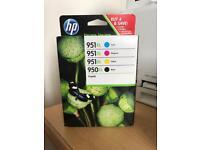Brand New: HP 950xl/ 951xl Ink Cartridges