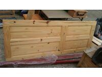 Internal door - interior solid wood. pine