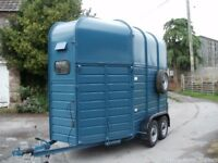 Double Horse Trailer/ box, like Rice, Suitable for Conversion,