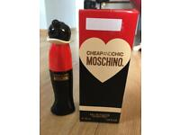 Cheap and chic Moschino edt 30ml Can post
