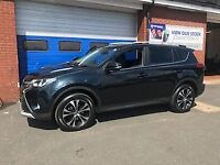 TOYOTA RAV4 2.0 D-4D INVINCIBLE AWD 5dr * Leather & Sat Nav * (grey) 2015