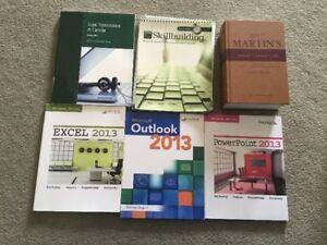Legal Assistant Textbooks - Criminal, Transcription, Office 2013