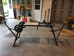 table de scie onglet delta universal miter saw stand