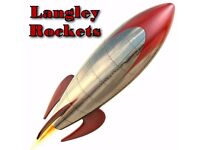 Langley Rockets Badminton Club - A sociable club with an excellent play standard