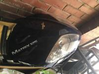 Sinnis matrix 125, spares, bike scrapped off but plenty of hardware and electrics,