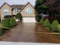 Concrete Sealing and Repairs: Exposed Aggregate, Stamped, etc.