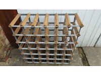 super strong 42 bottle wine rack