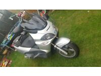 piaggio x9 250cc good condition start first time still mot cheap