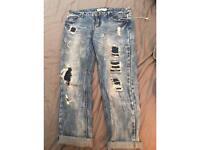 Size 12 boyfriend style fit jeans