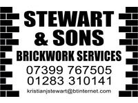 STEWART & SONS BRICKWORK SERVICES