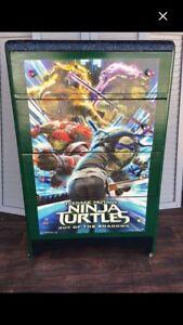 Teenage Mutant Ninja Turtles  4 drawe