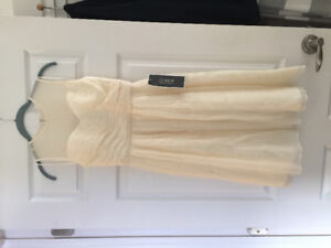 Brand new with tags - beautiful cream dress