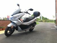 Honda PCX125 Scooter in excellent condition and only 5 months old
