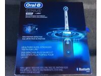 Oral B Genius 800s black edition electric toothbrush - brand new and never opened. RRP £260.00