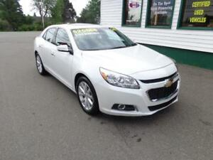 2016 Chevrolet Malibu Limited LTZ only $166 bi-weekly all in!