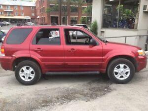 2007 Ford Escape Limitée