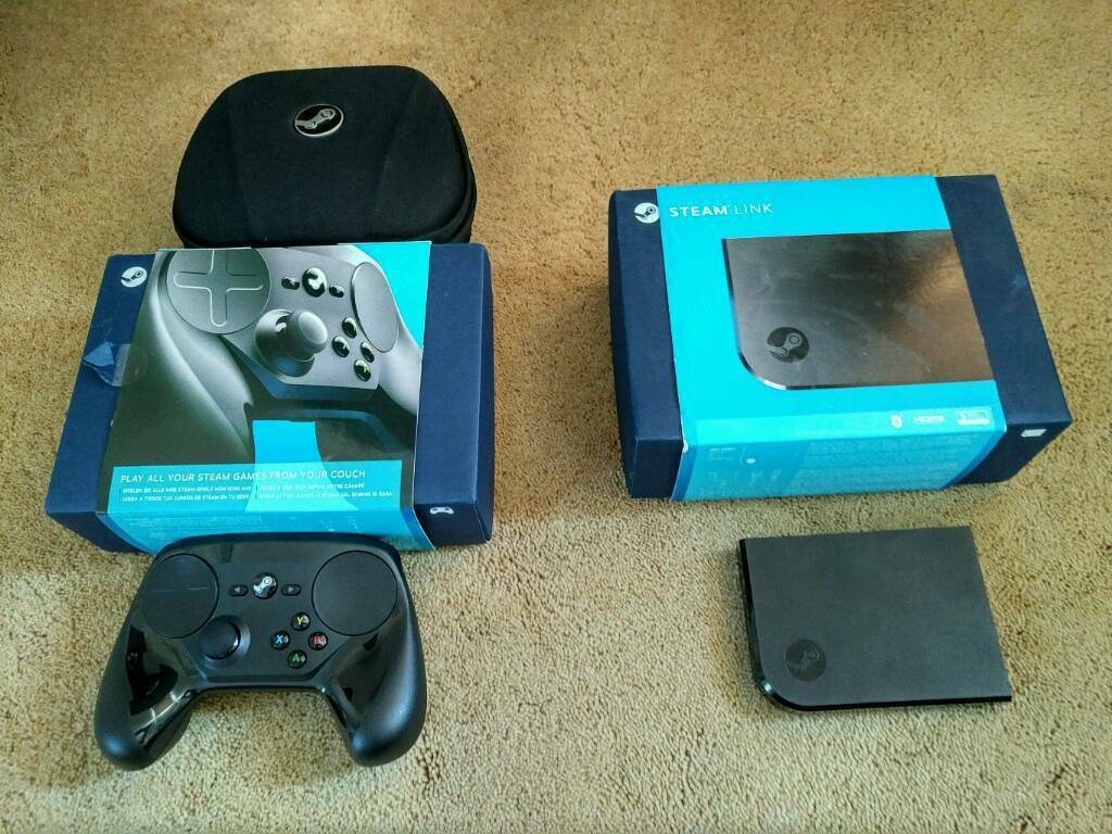 Steam link,steam controller and case | in Swindon, Wiltshire | Gumtree