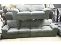 New large 4 seater jumbo cord sofa and matching 3 seater only £450