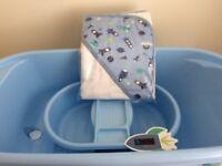 Brand New Baby Bath Set- Blue