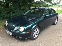 2002 Jaguar S-Type 2.5 V6 Manual MOT August 2018, 1 Owner, Full History