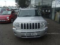 2008 08 JEEP PATRIOT 2.0 LIMITED CRD 5D 139 BHP **** GUARANTEED FINANCE **** PART EX WELCOME ***