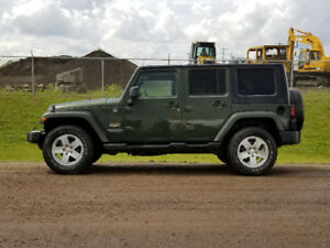 2008 Jeep Wrangler Unlimited SUV, Crossover